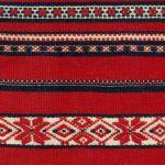 Haft - perebory (strój włodawski), pocz. XX w., Holeszów pow. Włodawa