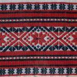 Haft - perebory (strój włodawski), pocz. XX w., Sosnówka pow.Włodawa