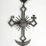 Zwieńczenie krzyża, poł. XIX w., pow. Biłgoraj